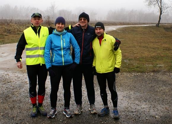 1.Ekipa przed biegiem