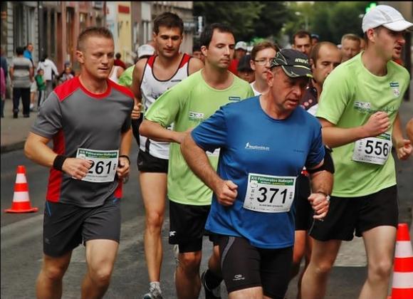 Ja w peletonie - półmaraton Wałbrzych 2012