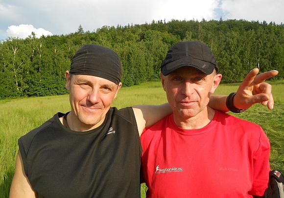 08d.Mariusz i ja - Chojnik na bL