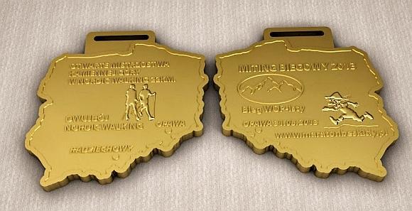 Bieg WOPisty - medal 2