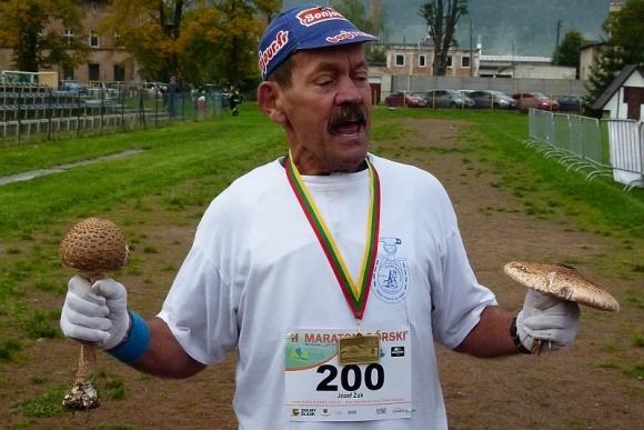 Maraton Zielone Sudety i Józef Żuk