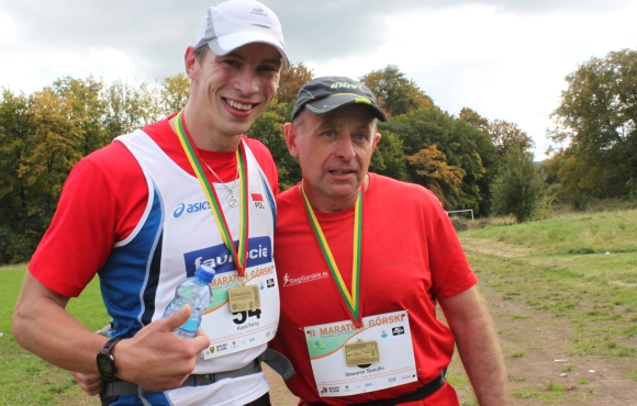Maraton Zielone Sudety - kamil i ja