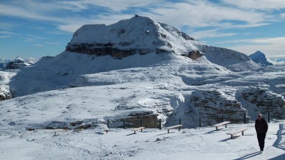 02.Piz Boe - widok góry