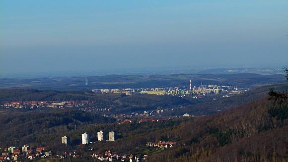 06.WB - Borowa - widok na miasto