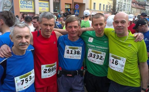 03. Półmaraton Ślęż - chłopaki przed st
