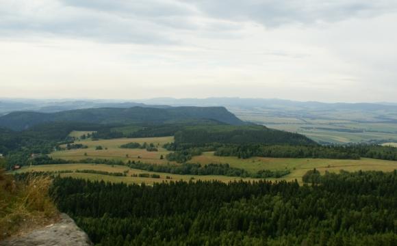 SGS 2014 - widok ze Szczel