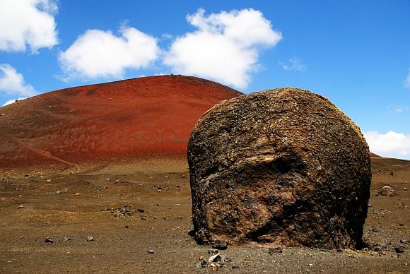 02.Lanzarote - wulkan Montana Colorada