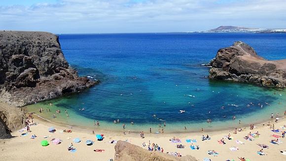 Lanzarote - plaża Papagayo