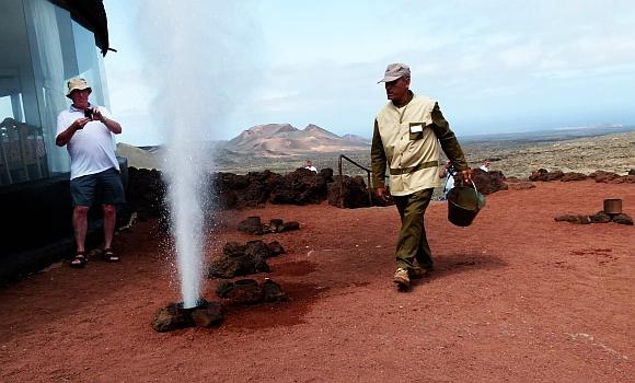 Lanzarote - prezentacja wulkanu