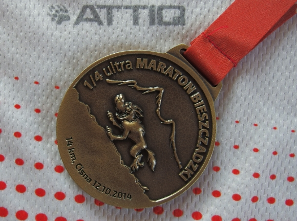 16.Ultra Bieszcz - medal