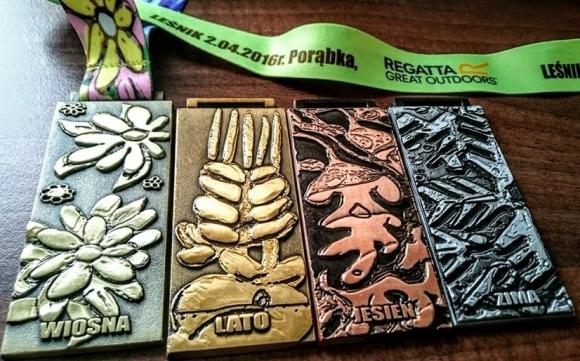Leśnik - medale - małe