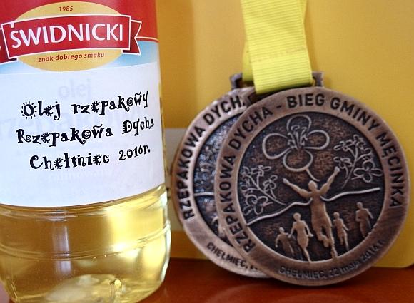 Rzepak i medal