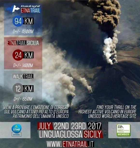 Etna Trail 2017 - plakat